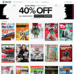 Zinio Magazine Subscriptions - 40% off