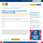 City of Perth Parking CPP - $10 Weekday Parking