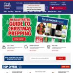 First Choice Liquor - $10 off $100 Spend