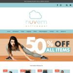Nuvem Activewear 50% off + 5% OzBargain Discount
