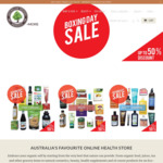 20% - 50% off Boxing Day Sale @ Australian Organic Products and More (e.g Cattier Anti Aging Cream $16.30 )