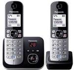[REFURB] Panasonic Cordless Phone - Twin Pack - KX-TG6822ALB $29.56 Delivered @ GraysOnline eBay