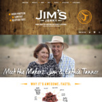Jim's Jerky 25% off Valentine's Deal
