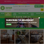 Oxfam: Free Standard Shipping on Orders $50 or over (Some Exclusions Apply)
