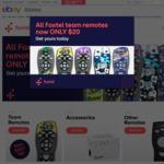 Foxtel NRL and AFL Remotes $20 (Was $49) @ Foxtel eBay Store