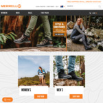Take 20% off Sitewide @ Merrell (+ $10 Standard Shipping or Free Shipping over $100 or with Shipster)