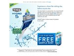 Schick Hydro 5 - Free Sample