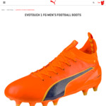 Evotouch 1 FG Men's Football Boots: $50 + Delivery (Was $280) @ Puma Online Store