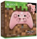 Xbox One Wireless Controller Minecraft Pig £28.96 (~$51.30 AUD) Delivered @ TheGameCollection (UK)