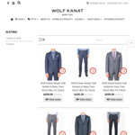 30% off All Mens Suits and Suit Separates @ Wolf Kanat (Online or In-Store)