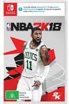 [Nintendo Switch] NBA 2K18 for $24 @ JB HI-FI