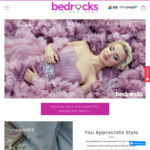 10% off Bed Sheets, Quilt Covers, Memory Foam Pillows, Quilts-Duvets + Free Shipping @ Bedrocks Bed Linen