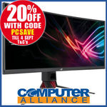 "ASUS ROG Strix XG35VQ 35"" 3440x1440 Ultrawide $879.20 ($15 Del/$0 Plus) + $50 eGift Card Redemption @ Computer Alliance / eBay"
