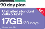 Kogan Mobile | $14.90 for 90 Days | 17GB Per 30 Days | Unlimited Talk & Text (New Customers)