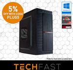 Ryzen 3 2200G / 120GB SSD / 8GB DDR4 2400MHz RAM / 500W PSU - $379.05 Delivered @ TechFast
