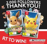 Win a Switch Copy of Pokémon Let's Go Worth $79.95 from The Gamesmen