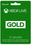 Xbox Live Gold 12 Month Membership $47.97 C&C/$55.92 Delivered @ Harvey Norman