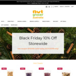 Black Friday Sale 10% off Storewide - Cashews, Almonds, Walnuts, Pistachios (+ Delivery) @ Nut Grocer