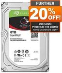 Seagate IronWolf 8TB 7200RPM 256MB Cache SATA NAS Hard Drive $295.20 + Delivery (Free with eBay Plus) @ Shopping Express eBay