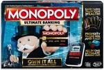 Hasbro Monopoly Ultimate Banking $30  (RRP $49) + Delivery (Free with Prime/ $49 Spend) @ Amazon AU