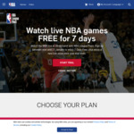 [VPN Required] NBA Annual League Pass 2018/2019 via Canada VPN - 7-Days Free Trial Then ARS$1,799.99 (~AU $66.99)
