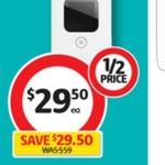 ½ Price Optus E5577 4G Wi-Fi Modem $29.50 @ Coles