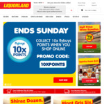 Liquorland 10x Bonus Points for Flybuys Members When You Shop Online