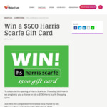 Win a $500 Harris Scarfe Gift Card from Vicinity [WA - Winner to Collect Prize from Midland Gate Shopping Centre]