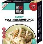 ½ Price Mr Chen's Dumpling Family Pack 1kg $8.50 @ Woolworths