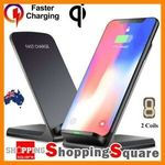 Qi Wireless Fast Charger Dock - 2 for $15 + Delivery (Free with eBay Plus) @ Shopping Square eBay