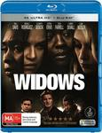 Widows 4K + Blu-Ray $16.66 (Free Delivery with Prime/ $49 Spend) @ Amazon AU