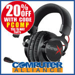 Creative Sound BlasterX H7 Tournament Edition 7.1 USB/3.5mm Headset $95.20 + Delivery (Free with Plus) @ Computer Alliance eBay