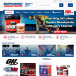 10% Discount on Entire Range Health and Bodybuilding Supplements @ Supplement Wholesalers