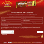 Win 1 of 3 Wishes Worth $100,000 +/- a Share of $129,600 Worth of VISA Gift Cards from Arnott's [Purchase Tim Tam]