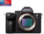 Sony Alpha A7 III Full Frame Mirrorless Camera (Body Only) $2250.80 Delivered @ digiDIRECT