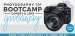 Win a Canon EOS R Mirrorless Digital Camera & 24-105mm L Series Lens from David Molnar