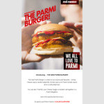 Free $10 Credit for Red Royalty Members to Try the New Parmi Burger at Red Rooster