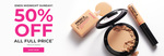 50% off Full-Priced Items Mini Banana Powder $2.50 (Free Shipping With $50/New Foundation/Concealer) @ Australis Cosmetics