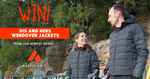 Win His and Hers Aussie Grit Wendover Down Insulated Jackets Worth $798 from Wild Earth