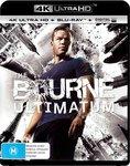 The Bourne Ultimatum (4K + Blu-Ray) - $13.50 + Post ($0 with Prime/ $39 Spend) @ Amazon Au