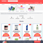 Shopback New Customers - Get $10 Bonus With $10 Minimum Spend @ Chemist Warehouse