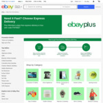 [eBay Plus] Free Express Delivery on Eligible Plus Items (Max Discount $15 Per Transaction) @ eBay