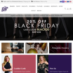 20% off Storewide + Free Shipping for Hosiery/Legwear @ The Tight Spot