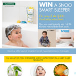 Win a SNOO Smart Baby Sleeper & Klorane Baby Care Pack +/- 1 of 40 Minor/Instant Win Prizes from Pierre Fabre