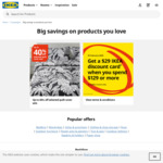 $29 Discount Card (Min Spend $129) @ IKEA