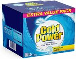 Cold Power Powder Laundry Detergent, Suitable for Front & Top Loaders 6kg $21.60 Delivered (S&S) @ Amazon AU