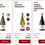Seppelt 96pt Chalambar Shiraz 2017 or 94pt Jaluka Chardonnay 2018 6pk $96 Shipped @ CellarDoor.co (New Members $20 off $100)