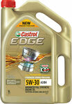 Castrol Edge Full Synthetic Engine Oil - 5W-30, 5 Litres $35.89 @ Supercheap Auto