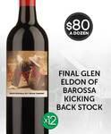 Glen Eldon Kicking Back Shiraz Cabernet 2017 $80/Dozen + $9 Shipping ($270 RRP) @ GetWinesDirect. Failed Export