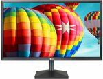 "LG 24"" FHD IPS Monitor $149 (RRP $249) Delivered @ Amazon AU"